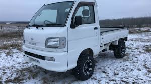 100 Hijet Mini Truck Cold Start YouTube