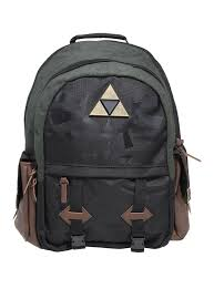 the legend of zelda triforce medieval backpack topic