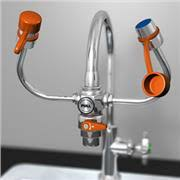 adaptor eye wash to faucet faucet at scientific