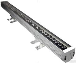 high power rgb 36w led linear wall washer light with dmx512 controlled
