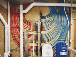 These are not cables but PEX water pipes