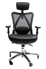 Desk Chair With Arms And Wheels by Sleekform Ergonomic Adjustable Office Chair With Lumbar Support