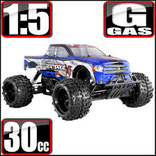 100 Rc Gas Truck Redcat Racing Rampage XT 15 Scale 4WD RC Blue NEW EBay