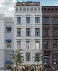 100 Townhouse Manhattan Sevenstory Townhouse Where Gloria Vanderbilt