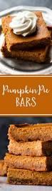 Pumpkin Puree Vs Pumpkin Pie Filling by Easy Pumpkin Pie Bars Sallys Baking Addiction