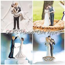 2013 Romantic Bride Groom Wedding Cake Toppers