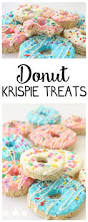 Rice Krispie Christmas Tree Treat Recipe by Donut Krispie Treats Recipe Krispie Treats Donuts And Butter