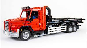 100 Tow Truck Flatbed MOC LEGO Technic YouTube