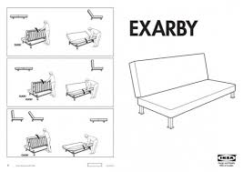 Balkarp Sofa Bed Instructions by Ikea Futon Assembly Instructions Roselawnlutheran