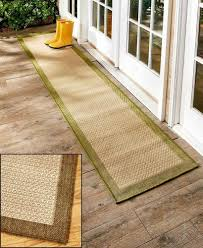 Best Outdoor Carpeting For Decks by Extra Long Runner Brown 72