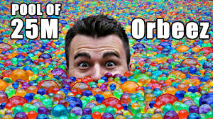 25 million orbeez in a pool do you sink or float youtube