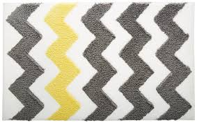 Gray Yellow And White Bathroom Accessories by Design For Bathroom Runner Rug Ideas 20940