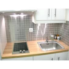 crédence cuisine à coller sur carrelage cuisine credence inox mosaique et carrelage inox 1 plaque credence