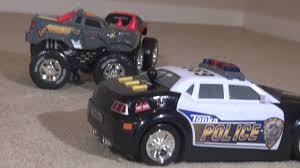 100 Tonka Mighty Motorized Fire Truck Police Cruiser YouTube