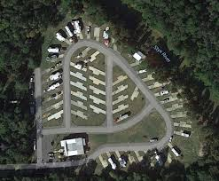 An Aerial View Of Riverside RV Park Robertsdale AL