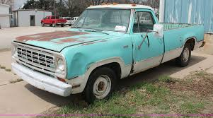 1974 Dodge D20 Pickup Truck | Item E3350 | SOLD! May 1 Midwe... Dodge Dw Truck Classics For Sale On Autotrader 1974 Ram 74do8465c Desert Valley Auto Parts Curbside Classic 1975 Power Wagon A Sortof Civilized Automotive History The Case Of Very Rare 1978 Diesel 7 Best Movie Pickup Trucks Macho Sale Bat Auctions Sold D100 57 Hemi V8 Five Speed Custom Pickup Youtube Bangshiftcom Big Horn Semi Classiccarscom Cc1074735 1985 Duall Rear Axle Steel Cowboys Pinterest W200 Crew Progject Resource Forums