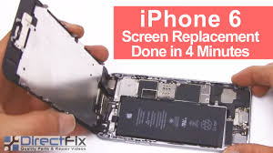 iPhone 6 Screen Replacement done in 4 Minutes