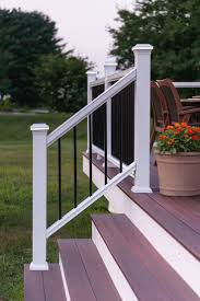 Outdoor: Fiberon Railing   Fiberon Railings   Lowes Handrails Decorating Best Way To Make Your Stairs Safety With Lowes Stair Spiral Staircase Kits Lowes 3 Staircase Ideas Design Railing Railings For Steps Wrought Shop Interior Parts At Lowescom Modern Remodel Spindles Cozy Picture Of Home And Decoration Outdoor Pvc Deck Buy Decorations Banister Indoor Kits Awesome 88 Wooden Designs