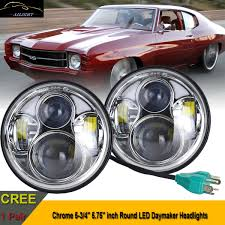 5 3/4 5.75inch Headlight W/ LED Light Bar For Corvettes Chevelles ... 881998 Chevy Truck 8piece Black Halo Headlights Set Wxenon Bulbs Billet Front End Dress Up Kit With 7 Single Round 1973 Lumen Ck Pickup 1964 Projector Led Dna Motoring For 0306 Silveradoavalanche 4pc Headlight 5 Inch 1958 Wiring Diagrams Schematics 03 04 05 06 Silverado 1500 Tail Lights Parking Light 9499 Suburban Blazer Headlamps Light Blue Trucks Elegant Chevrolet Colorado Crew Cab Photo 9902 1 Piece Grille Cversion Dash In 2017 Are Awesome The Drive 072014 Tahoe Avalanche Tron Style Neon Tube