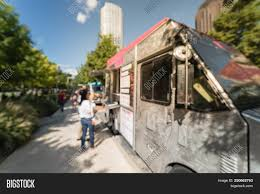 100 Dallas Food Trucks Blurred Truck Image Photo Free Trial Bigstock