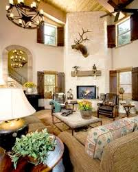 Rustic Ranch Living Room From Design House Houston TX