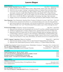Lauren Dugan   Resume Journalist Resume Sample Velvet Jobs Creative Cv Design For Freelance And Samples Templates Visualcv Esl Rources Science Teachers Paperback Writer Lyrics 1011 Journalism Resume Skills Elaegalindocom For Street Art Of Two Male Police Cstution College Essay High School Help Essay Example Writing Top Broadcast Journalism Examples Print News Cover Letter Journalist Sample 25 Free Entry Level