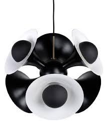 casa padrino luxus hängeleuchte schwarz weiß 55 x 55 x h 53 cm aluminium pendelleuchte wohnzimmer le luxus kollektion