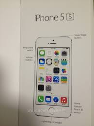 Alleged iPhone 5S User Manual Shows f Fingerprint Sensor