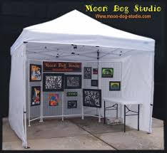 10 x 10 Displayshade Canopy Value Package 4 Sidewalls