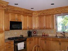Kitchen Soffit Trim Ideas by Kitchen Soffits Wrapped In Thin Plywood With Crown Molding