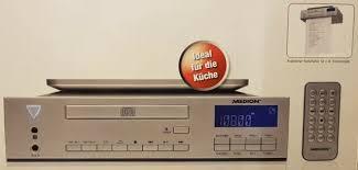 medion md 83963 unterbauradio küchenradio mit cd mp3 player