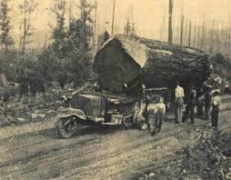 Eatonville To Rainier » Three-Wheel Logging Truck