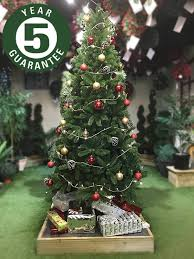 7ft Slim Christmas Tree by Best Artificial Slim Premium 7ft 205cm Real Feel Hinged