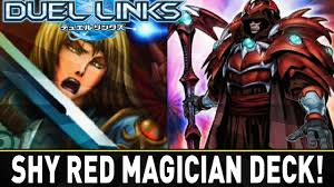 shy red magician deck yugioh duel links mobile w shadypenguinn