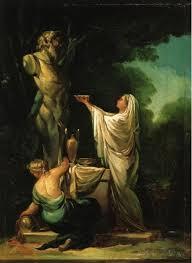 The Sacrifice To Priapus By Francisco Goya