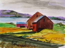 Landscape Watercolor Paintings: Winter Delaware Farm By John Williams Hamilton Hayes Saatchi Art Artists Category John Clarke Olson Green Mountain Fine Landscape Garvin Hunter Photography Watercolors Anna Tderung G Poljainec Acrylic Pating Winter Scene Of Old Barn Yard Patings More Traditional Landscape Mciahillart Barn Original Art Patings Dlypainterscom Herb Lucas Oil Martha Kisling With Heart And Colorful Sky By Gary Frascarelli Artist Oil Pating