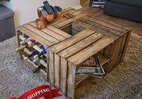 6 Steps Apple Crate Coffee Table Lovely At Handmade Including Wine Rack And Shelved
