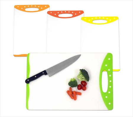 Home Basics Cutting Board Plastic Orange 30x46cm