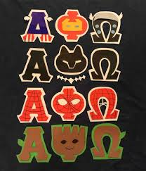 Marvel Superhero Alpha Phi Omega Letter Stencils Alpha Phi Omega
