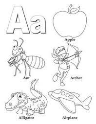 Alphabet Coloring Pages A Z Pdf A1
