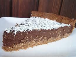 tarte au chocolat noir et a la noix de coco d eric kayser
