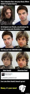 Best 25 Sebastian Stan Luke Skywalker Ideas On Pinterest