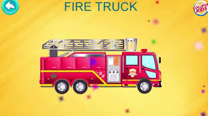 100 Fire Truck Game Cars Puzzle For Toddlers Transport Puzzle For Kids Police Car