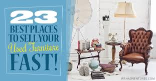Top 23 Ways to Sell Used Furniture Fast Locally and line