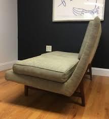 jens risom sofa settee mid century modern danish teak ebay