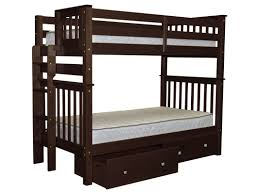 Bunk Beds Columbus Ohio by Bedz King Mission Tall Twin Bunk Bed With Storage U0026 Reviews Wayfair
