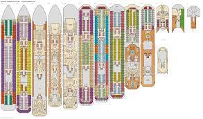 Carnival Conquest Deck Plans by Carnival Triumph Empress Deck Plan Tour