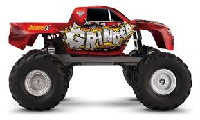 Traxxas 1/10 Scale Grinder 2WD Monster Jam Replica Monster Trucks - 3602 Traxxas Bigfoot 110 Rtr Monster Truck Summit Wxl5 Esc Tq 24 Skully Color Blue Excell Hobby Red White Blue Scale Grinder 2wd Jam Replica Trucks 3602 Traxxas Emaxx Brushless 4wd Monster Truck Wtsm Vers 2016 116 Extreme Terrain Tra720763 Rc Car Electric Off Road Tmaxx Classic Tra491041blue Modellismo Dinamico Auto Droni Barche Radiocomandate Jet Model Stampede Vxl Brushless 2wd Ebay Amazoncom With 24ghz The Original Firestone