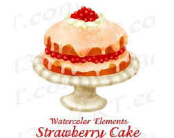 OFF Watercolor Cake Clipart Cake Clip art Gourmet Cake Cake Stand