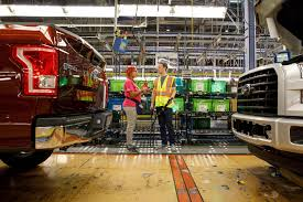 Mark Zuckerberg Checks In At Ford's Dearborn Factory, Learns How ... Michigan Supplier Fire Idles 4000 At Ford Truck Plant In Dearborn Tops Resurgent Us Car Industry 2013 Sales Results Show The Could Reopen Two Plants Next Friday F150 Chassis Go Through Assembly Fords Video Inside Resigned To See How The 2015 F Announces Plan To Cut Production Save Costs Photos And Ripping Up History Truck Doors For Allnew Await Takes Costly Gamble On Launch Of Its Pickup Toledo Blade Plant Vision Sustainable Manufacturing Restarts Production